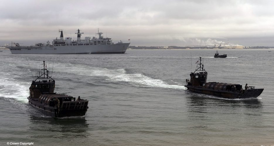 UK sends vessels to Asia to help with N. Korean sanctions enforcement