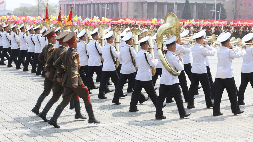 What North Korea's army flags can teach us about its recent history