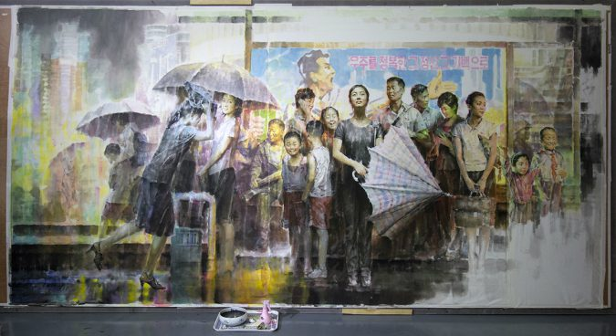 North Korean art: pure kitsch or misunderstood masterpieces?