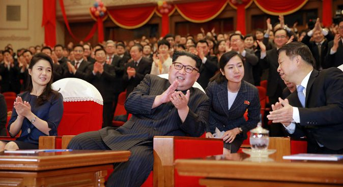 """Kim Jong Un hails Chinese delegation's """"significant"""" visit to Pyongyang"""