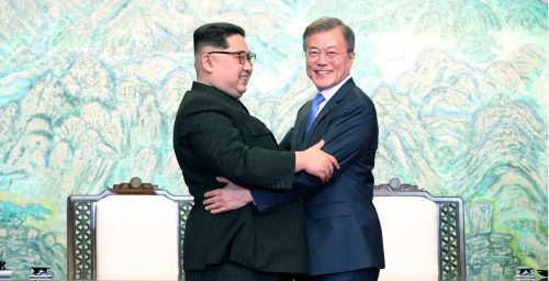 Three years after meeting Kim Jong Un, South Korean president calls for talks