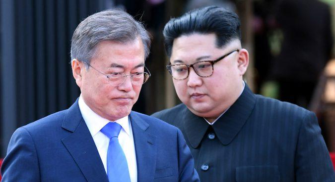 Six-party countries react to inter-Korean summit