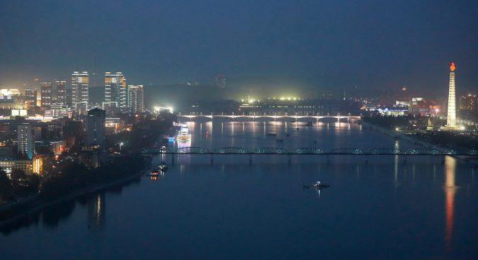 New high-rise, high-tech apartments under development in Pyongyang: photo