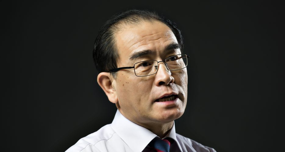 Prominent former North Korean diplomat to run in upcoming South Korean elections