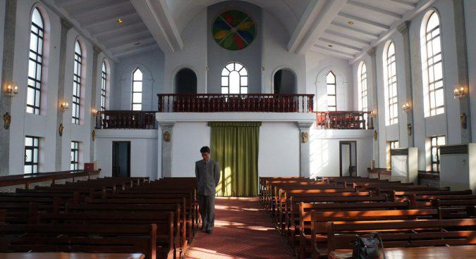 church north korea photo