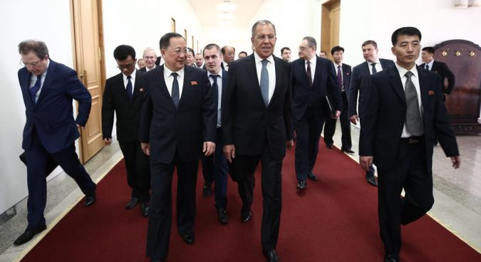 Lavrov visits North Korea: what we learned