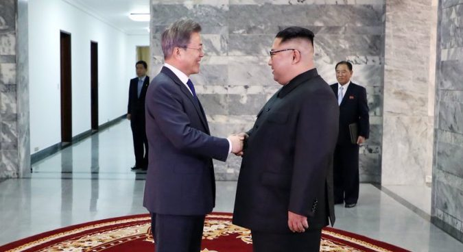 Moon Jae-in and Kim Jong Un hold surprise second summit at Panmunjom