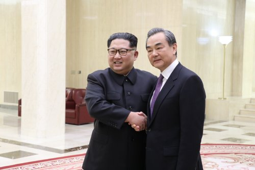 Kim Jong Un meets Chinese FM, reiterates goal of denuclearization