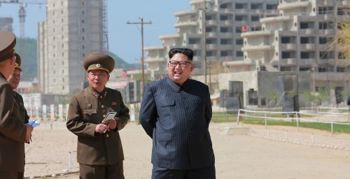 N. Korea aims to finish Wonsan-Kalma project by April 15 next year: state media