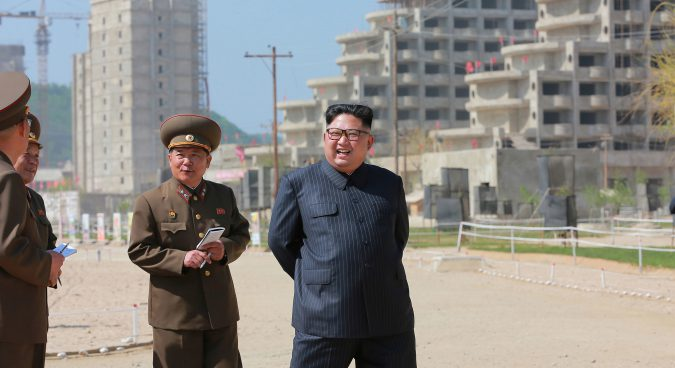 N. Korea aims to finish Wonsan-Kalma project by April 15 next year: state media