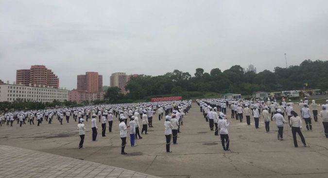Preparations for September mass games event underway in Pyongyang