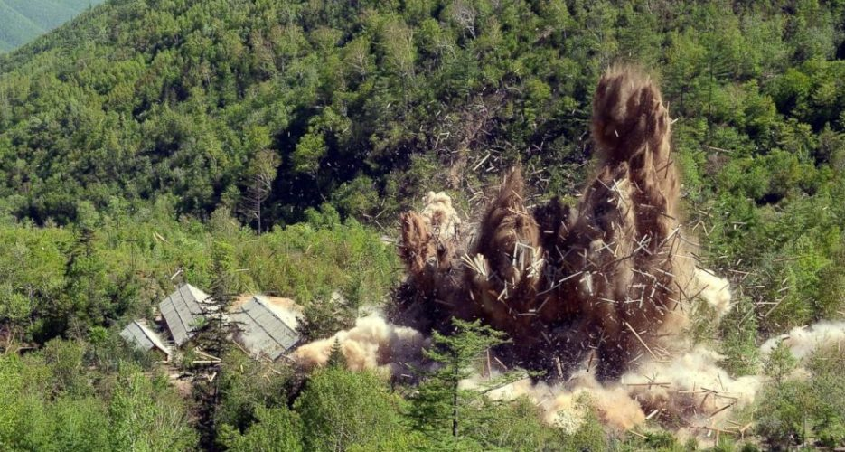 North Korea says it has dismantled nuclear testing ground