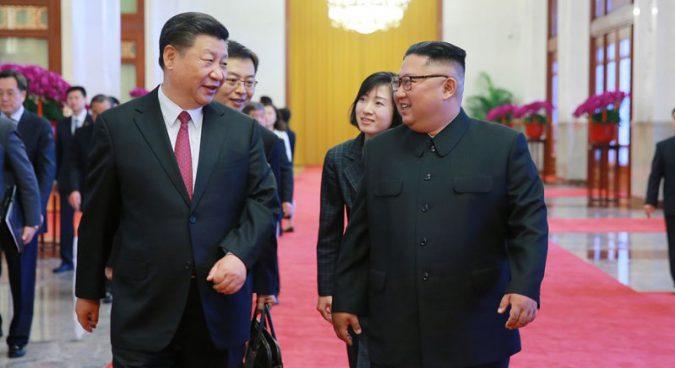Keep your friends close: Kim Jong Un returns to China
