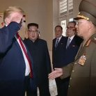 White House defends Trump's salute of North Korean general