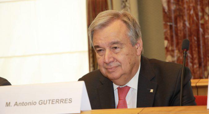 Guterres photo