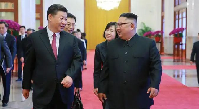 Kim Jong Un and Xi Jinping meet in Beijing for third summit
