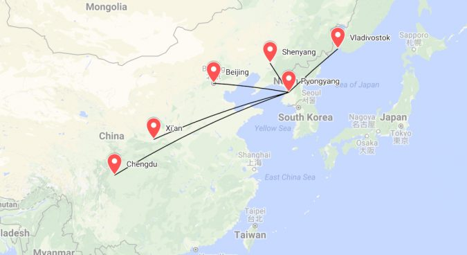 Air Koryo To Begin New Routes To Chengdu And Xian Next Month Nk News