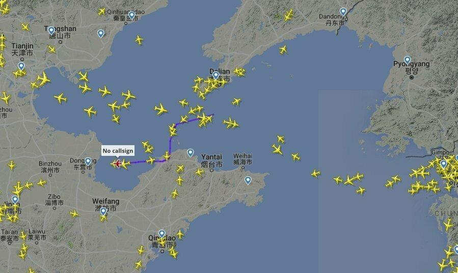 Kim Jong Un\'s private jet en route to Singapore, data indicates   NK ...