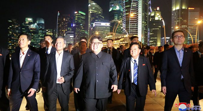 North Korea will learn from Singapore's economic development: Rodong Sinmun
