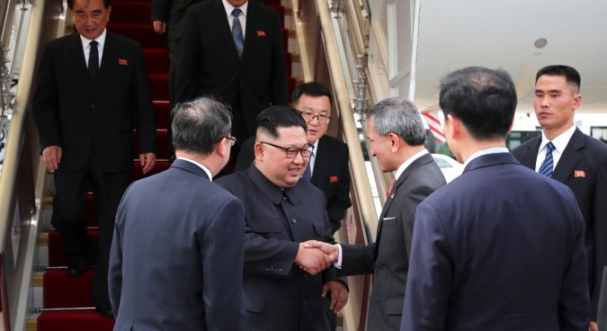 Kim Jong Un: It's a long way to Singapore