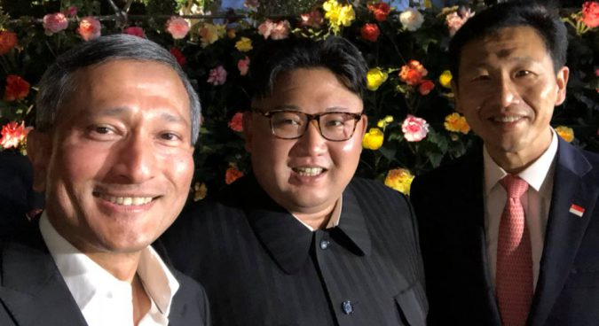 Kim Jong Un takes surprise night-time tour of Singapore