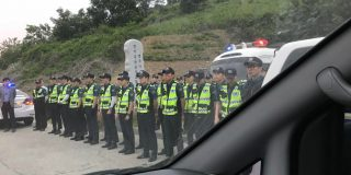 South Korean police block NGO from sending balloons to North Korea