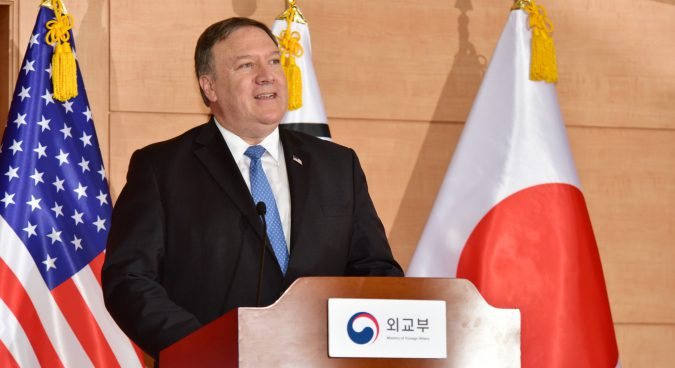 No sanctions relief until North Korea denuclearizes, Pompeo insists