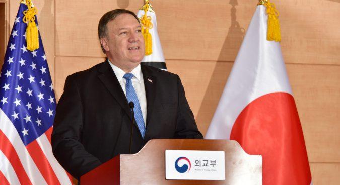 No sanctions relief until North Korea denuclearizes, Pompeo insists