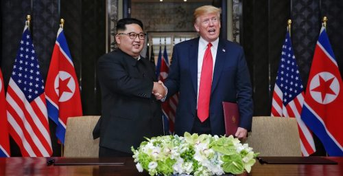 How Trump joins the list of notorious tyrants who praised North Korea's system