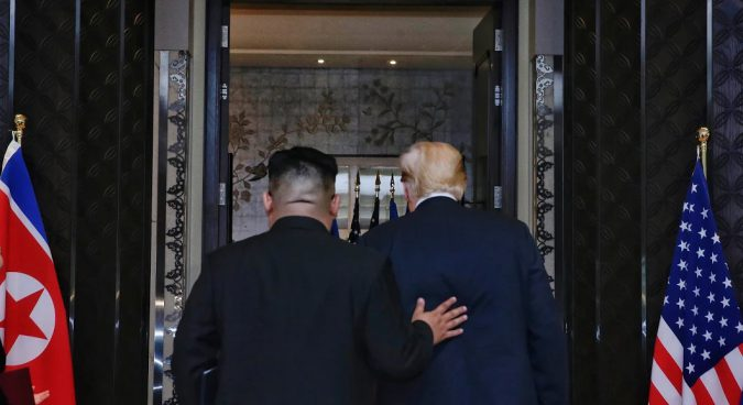 """Greatest achievement"" of summit was trust-building between Kim, Trump: Seoul"