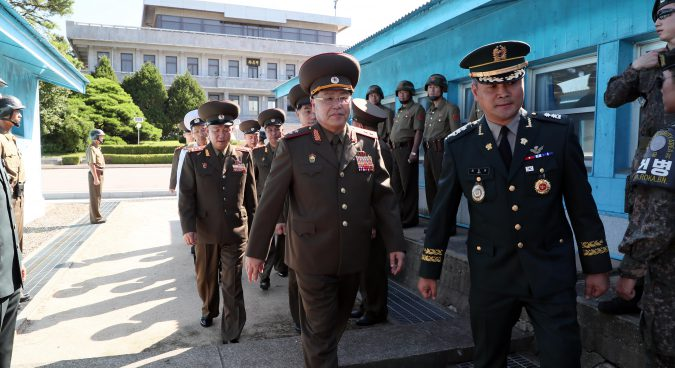 Two Koreas kick off second general-level military talks this year