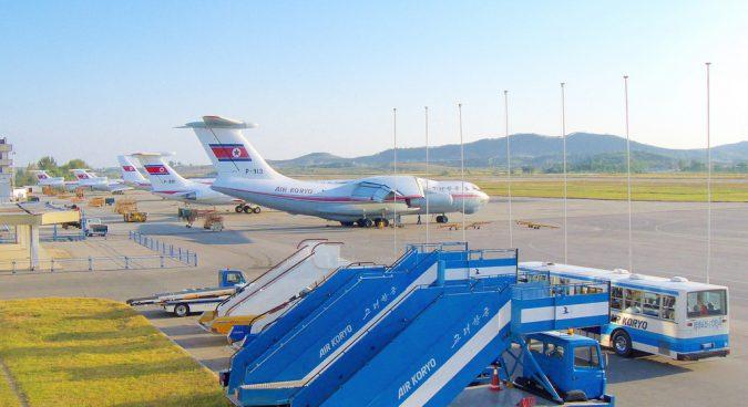 In unusual move, five Air Koryo planes head to Vladivostok on Monday