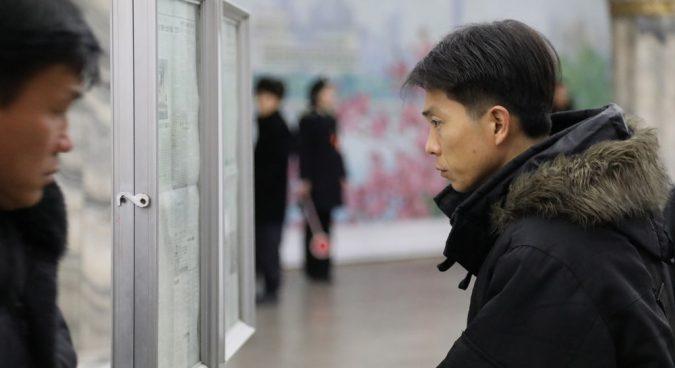"North Korean media denounces South for ""preposterous"" sanctions support"
