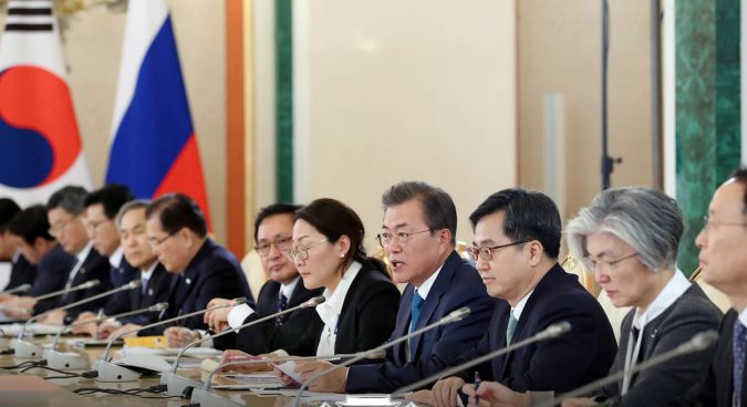 After Moon's trip to Moscow, could a trilateral summit be in the works?