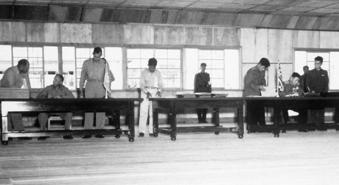 Fragile peace: the signing of the Korean Armistice Agreement
