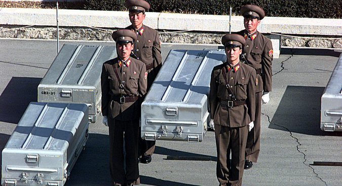North Korea to start moving remains of U.S. soldiers in coming weeks: official