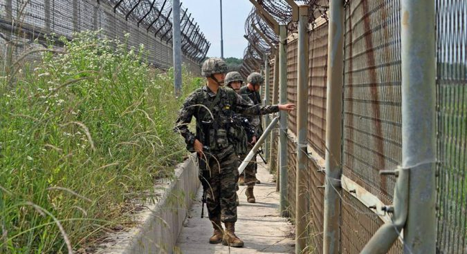 """Hasil gambar untuk Seoul to reduce troops, equipment at DMZ ahead of """"full-scale withdrawal"""": MND"""