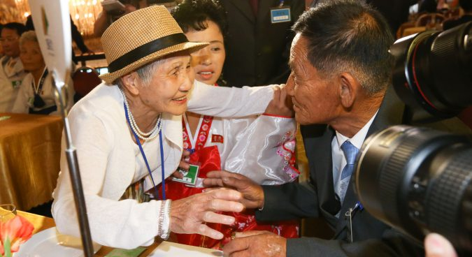Divided families reunited in emotional event at North Korea's Mount Kumgang
