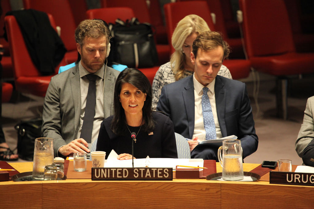 Russia pressured UN panel to alter North Korea sanctions report: Haley