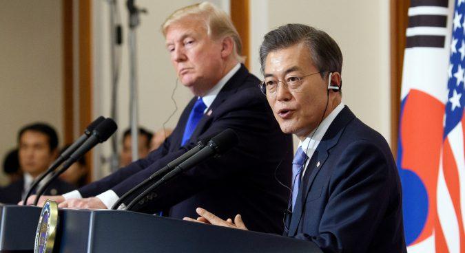 Trump supports Seoul sending humanitarian aid to North Korea: Blue House