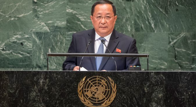 North Korea will not disarm unilaterally, without trust in U.S.: Ri Yong Ho