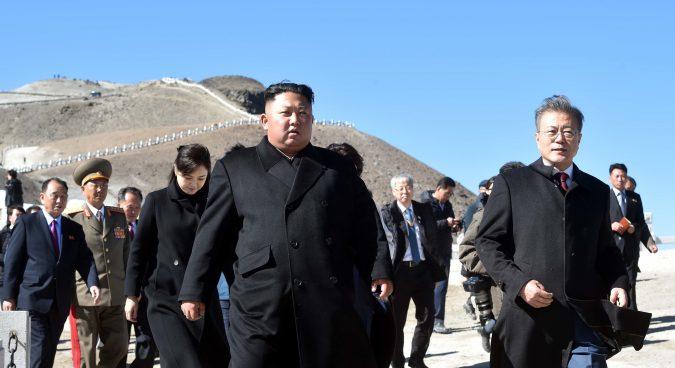 South Korean President visits Mt. Paektu as three-day summit draws to a close