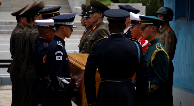 U.S. identifies remains of two servicemen killed in the Korean War