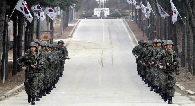 "Two Koreas engaging in ""operational arms control"" at an entry level: Seoul"