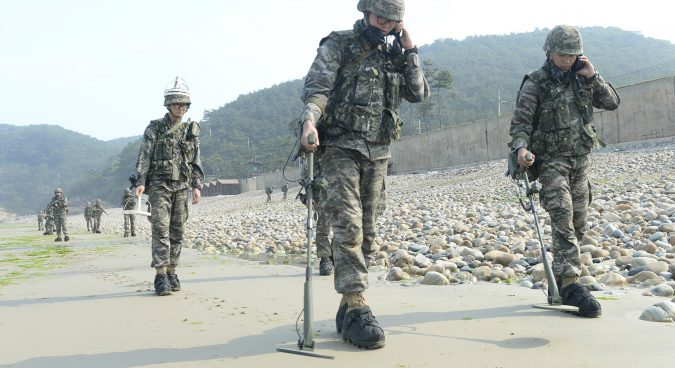 Two Koreas begin removal of mines from Joint Security Area: ROK