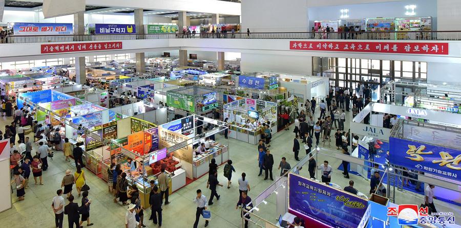 320+ company Autumn International Trade Fair kicks off in Pyongyang