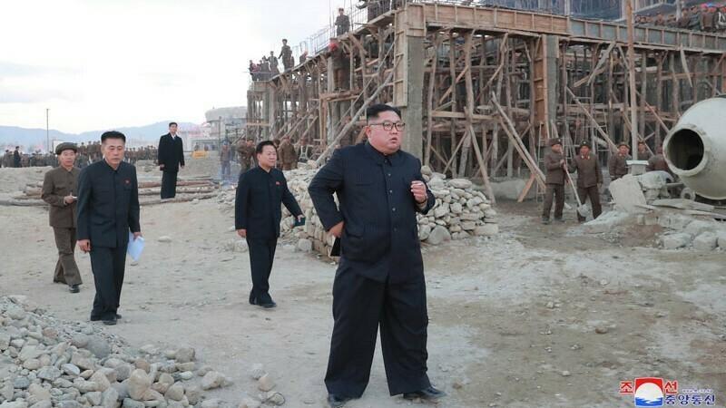 Kim Jong Un expresses disappointment with progress at Wonsan-Kalma tourist zone