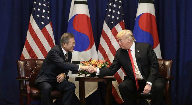 """Hasil gambar untuk DPRK media steps up criticism of U.S. for """"interference"""" in inter-Korean affairs"""