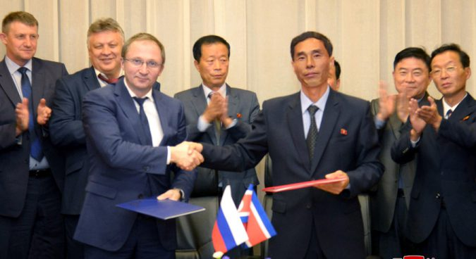 North Korea, Russia discuss logging industry cooperation in forestry meeting