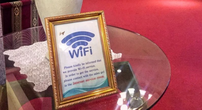 Wi-Fi installed at North Korean hotel, pictures confirm